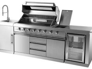 """מטבח חצר איכותי כולל מקרר / מק""""ט - CANADA כולל מפער אינפרא"""