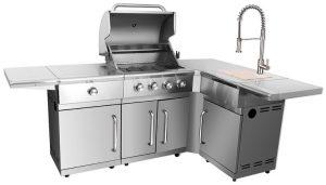"""מטבח איכותי ביותר עשוי נירוסטה 430 דגם YUKON / מק""""ט – GB-H410-C"""