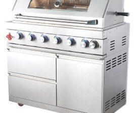 """גריל גז נירוסטה 304 איכותי המתאים למטבח בהתאמה אישית / מק""""ט – WST-001"""