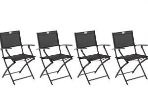 כיסא מתקפל עם ידיות דגם סקליה