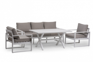 Istanbul 0312  מערכת ישיבה 5 מקומות +שולחן גבוה