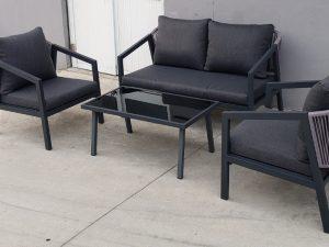 מערכת ישיבה בשילוב חבלי פשתן  0303 Panama