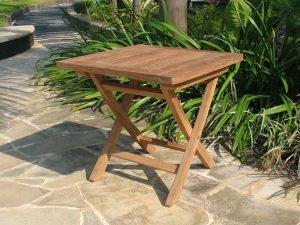 0701 ספסל עץ/שולחן קטן לקפה
