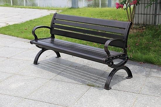 ספסל גינה מאלומיניום 0297 Monti