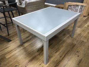 0430 שולחן זכוכית נפתח 140-280X105